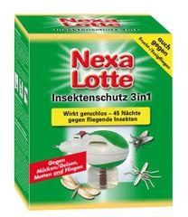 Nexa Lotte vložek za zaščito pred letečim mrčesom 3 v 1