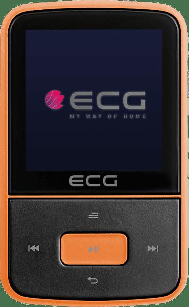 ECG PMP 30 8GB, černá/oranžová