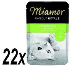 Finnern hrana za mačke Miamor, zajčji ragu, 22 x 100g
