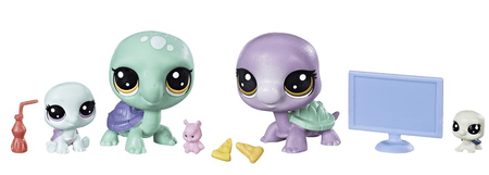 Littlest Pet Shop družinski paket živali - Želve