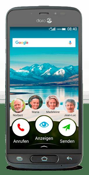 doro 8040, CZ LTE, šedý