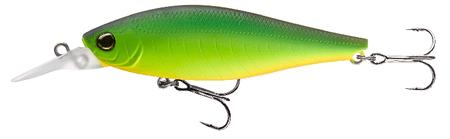 Daiwa Wobler TN Tight Wade Shad 7,5 cm Float 9 g Matt Hot Chartrose