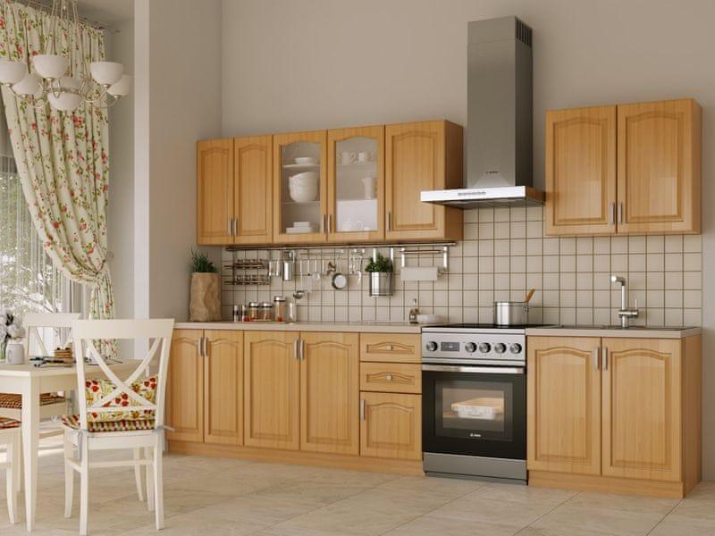 Kuchyně NIKA CLASSIC 260 classic, olše
