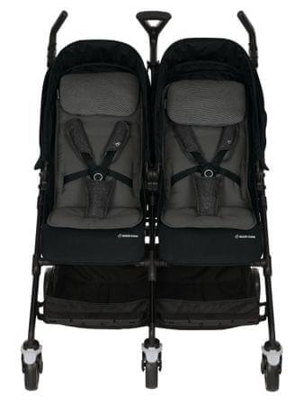 Maxi-Cosi wózek dziecięcy Dana for2, czarny