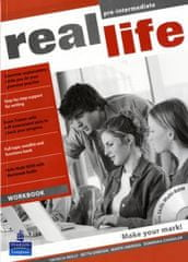 Reilly Patricia: Real Life Pre-Intermediate Workbook CZ (includes Audio & CD-ROM)