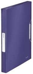 Box na spisy Leitz Style titanově modrý