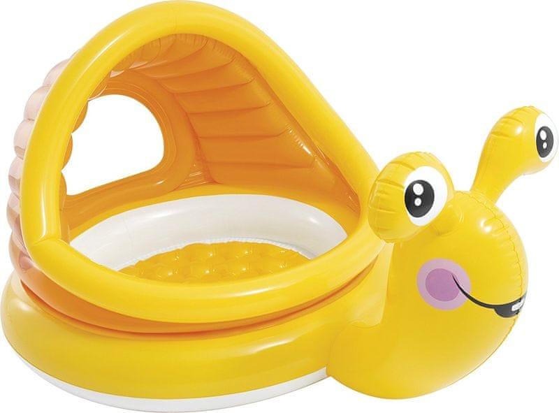 Intex LAZY SNAIL Dětský bazén šnek, 57124NP