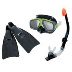 Intex potapljaški set - dihalka, očala in plavuti