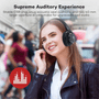 3 - TaoTronics brezžične naglavne slušalke z mikrofonom TT-BH21