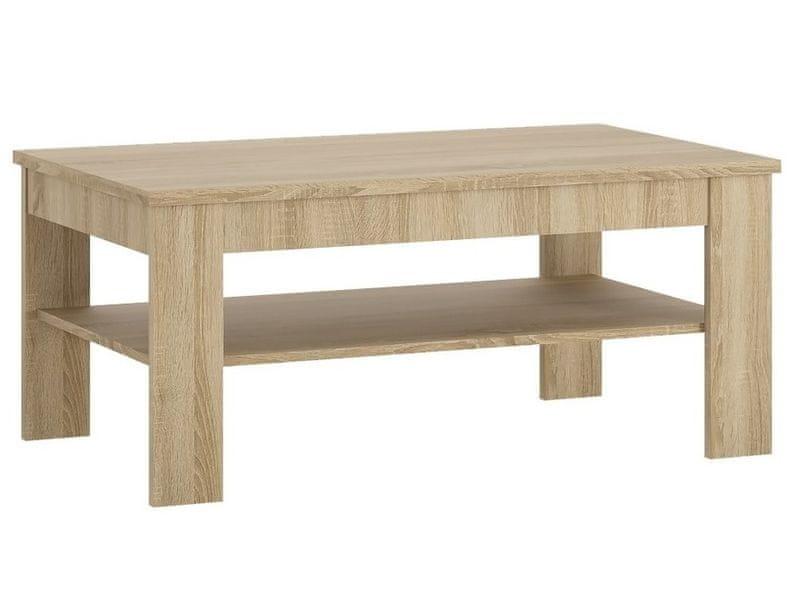 Konferenční stolek UNNI, dub sonoma