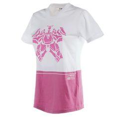 Dainese dámské triko s krátkým rukávem   LAGUNA SECA LADY bílá/růžová