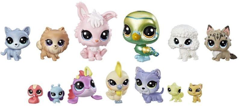 Littlest Pet Shop Velké balení zvířátek – Diva Squad