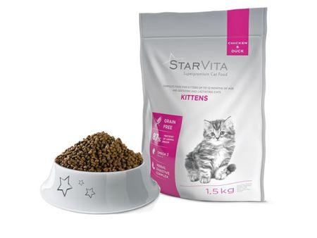 Starvita Granule hrana za mačke, 1,5 kg