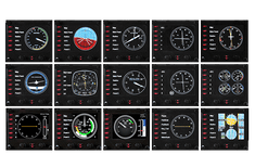 Logitech G Saitek Pro Flight Panel vezérlő (945-000008)