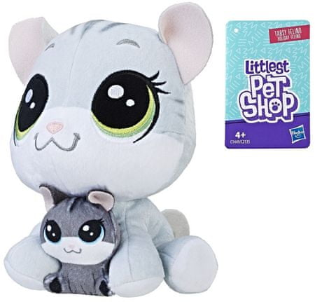 Littlest Pet Shop Duo plyšových zvieratiek - Mačička
