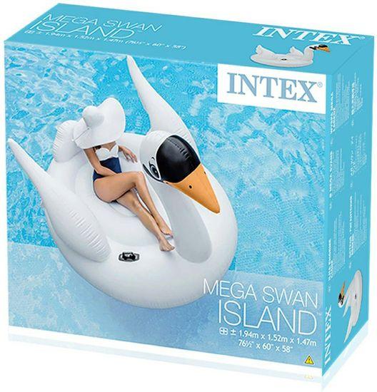 Intex napihljiva blazina Labod, velika