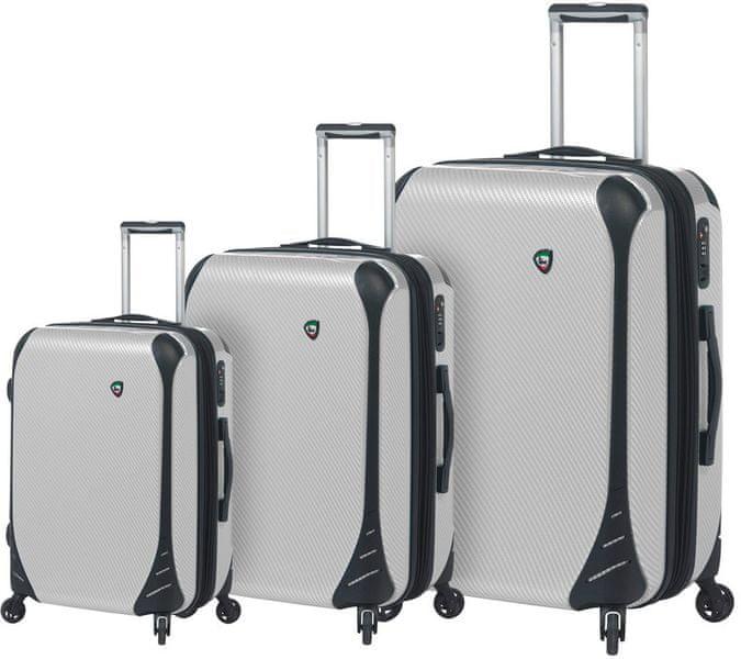 Mia Toro Sada cestovních kufrů M1021/3, bílá