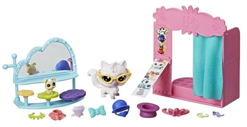 Littlest Pet Shop Tématický set se zvířátkem – Foto budka