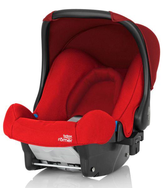Römer Autosedačka Baby-Safe Flame Red