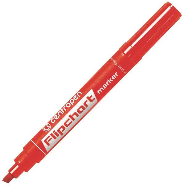 Značkovač 8560 Flipchart červený