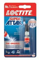 Lepidlo vteřinové Loctite Super Attak 3 g
