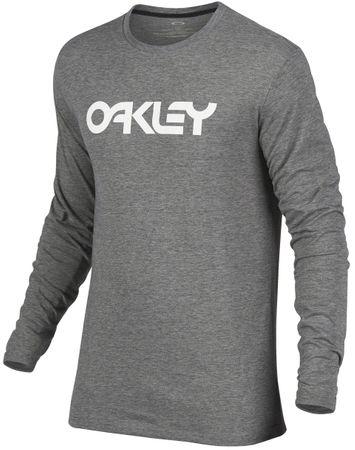 Oakley koszulka męska 100C-Mark II L/S Tee Athletic Heather Grey M