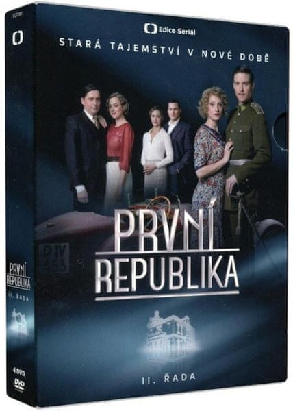 První republika - II. řada (4DVD) - DVD