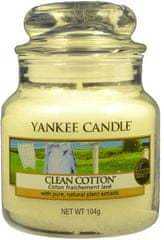 Yankee Candle Clean Cotton Classic malá 104 g
