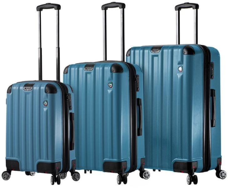 Mia Toro Sada cestovních kufrů M1300/3, modrá