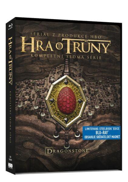 Hra o trůny / Game of Thrones - 7. série (3BD steelbook) - Blu-ray