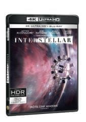 Interstellar (3 disky) - Blu-ray + 4K ULTRA HD