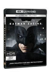 Batman začíná (3 disky) - Blu-ray + 4K ULTRA HD