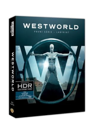 Westworld - 1. série (6 disků)    - Blu-ray + 4K ULTRA HD
