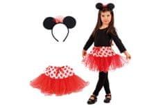 Carnival Toys kostum Miška, krilo + obroč (6673)