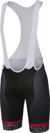 Castelli Volo Bibshort Black/White L