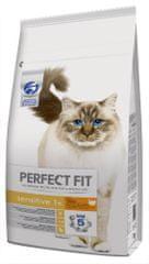 Perfect fit Pulykahúsos granulátumok érzékeny emésztőrendszerű felnőtt macskák számára - 7kg