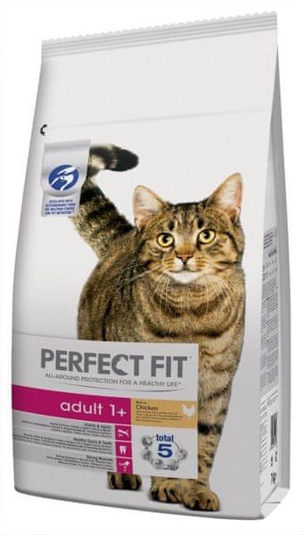 Perfect fit Granule kuřecí pro dospělé kočky 7kg