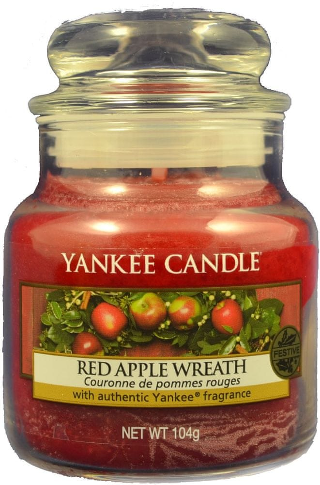 Yankee Candle Red Apple Wreath Classic malý 104 g