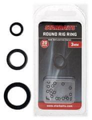 Starbaits Kroužky Kulaté Round Ring 20 ks
