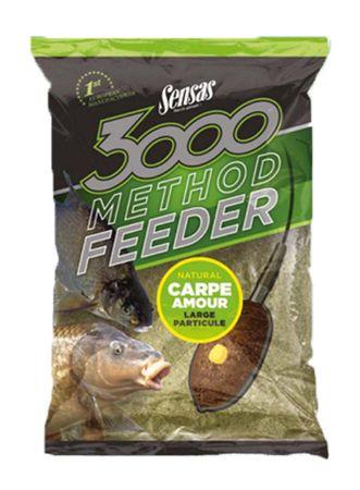 Sensas Krmení 3000 Method Feeder 1 kg kapr žlutý