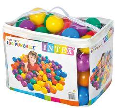 Intex 49600 Míčky do hracích koutů 100 ks