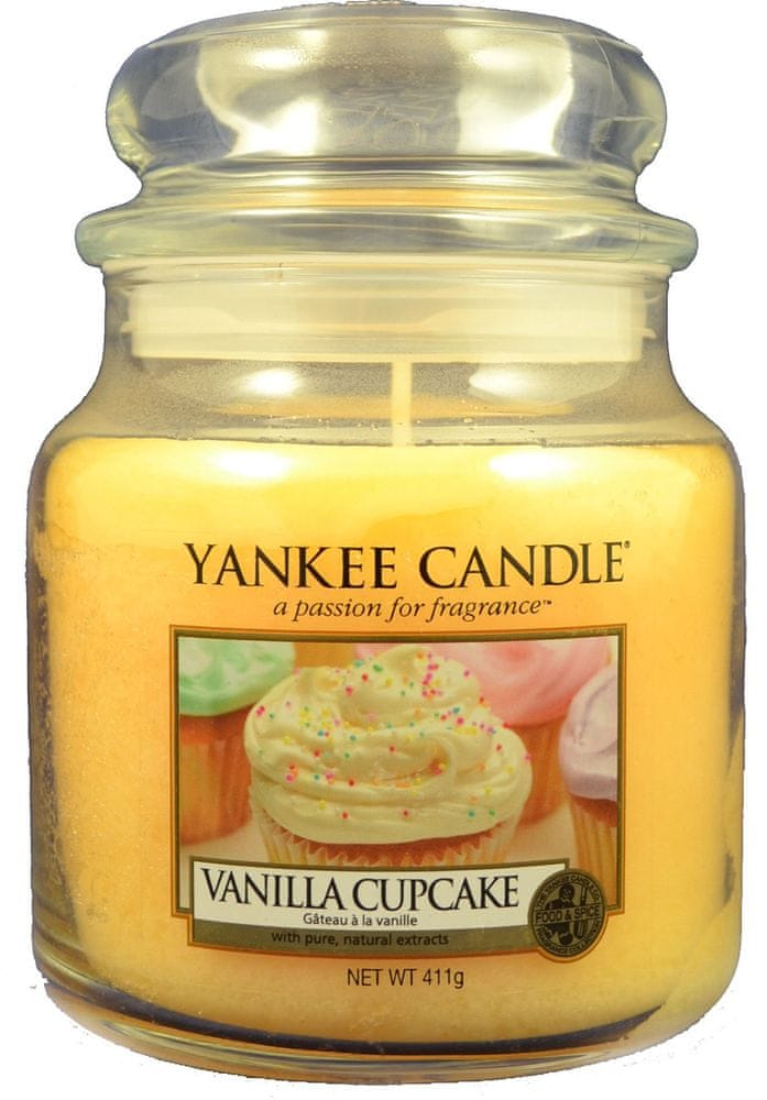 Yankee Candle Vanilla Cupcake Classic střední 411 g