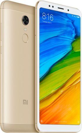 Xiaomi Redmi 5 Plus, 4GB/64GB, Global Version, Gold