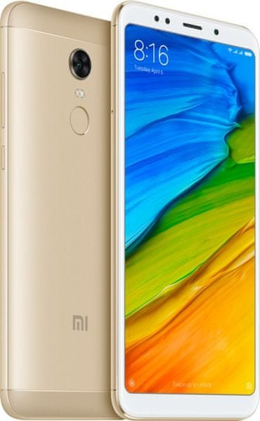 Xiaomi Redmi 5 Plus, 3GB/32GB, Global Version, Gold