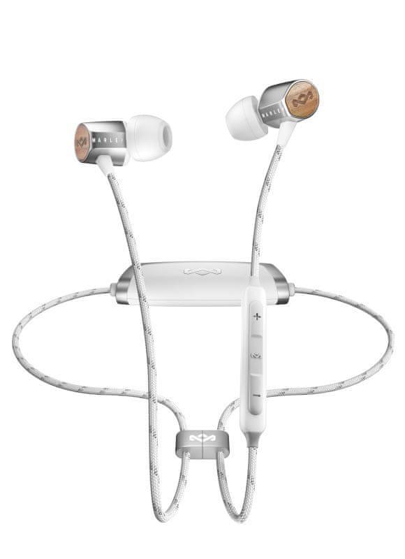 MARLEY Uplift 2 Wireless bezdrátová sluchátka, stříbrná