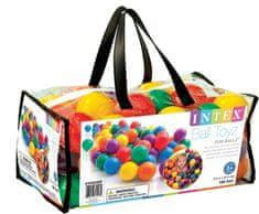 Intex plastične žogice, 100 kos