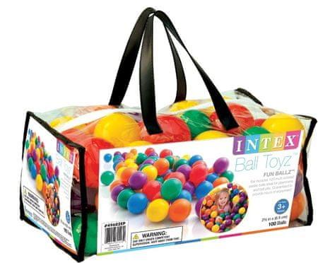 Intex Kulki do basenu 6 kolorów 100 szt
