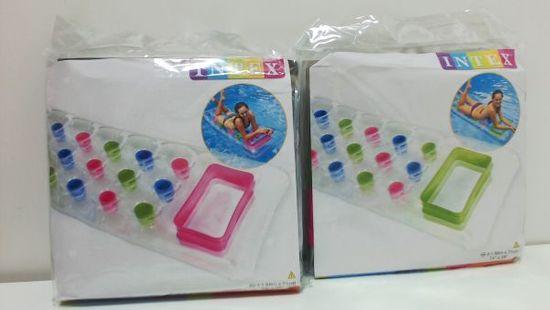 Intex 59894 Pocket Lounge lehátko - dvě barvy