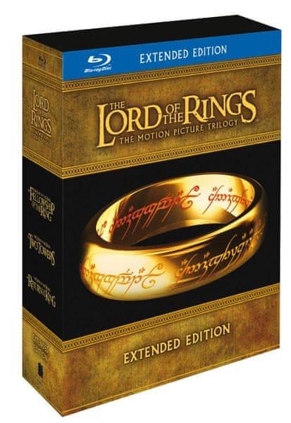 Pán prstenů - Komplet trilogie (Rozšířená speciální edice 6BD+9DVD bonus) - Blu-ray