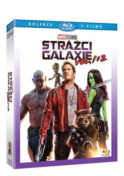 Strážci Galaxie + Strážci Galaxie Vol. 2 (2BD) - Blu-ray